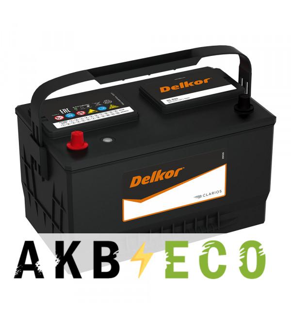 Автомобильный аккумулятор Delkor 65-850 (100L 850A 306x192x192) для Ford Explorer