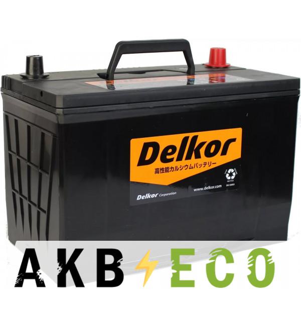 Автомобильный аккумулятор Delkor 125D31R (105L 900A 306x173x225)