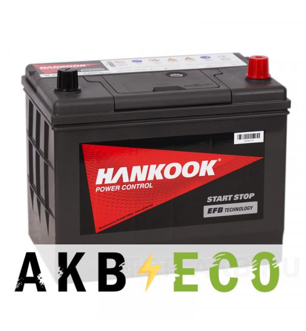 Автомобильный аккумулятор Hankook EFB 100D26L (68R 730А 258x173x225) Start-Stop
