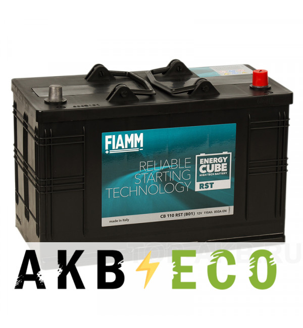 Автомобильный аккумулятор Fiamm Energy Cube 110R 850A 330x171x241