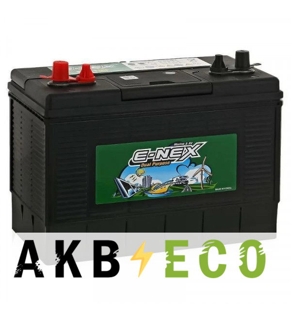 Лодочный аккумулятор AlphaLine E-NEX DC31MF (marine) 100Aч 1000A (330x173x240)