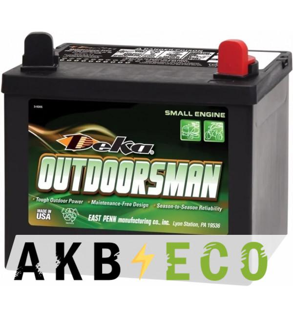 Мотоциклетный аккумулятор Deka 8U1R Outdoorsman 28Aч о.п. 230A (197x130x184)
