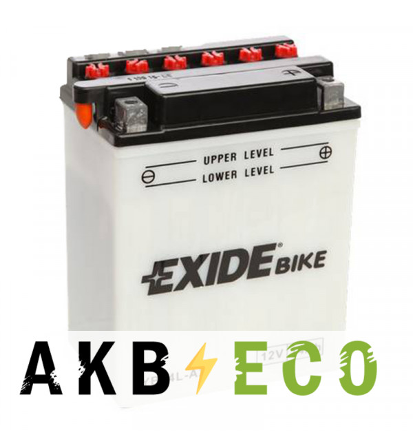 Мотоциклетный аккумулятор Exide Conventional EB14L-A2 12V 14Ah 145A (134x89x166) прям. пол. (сухоз.)