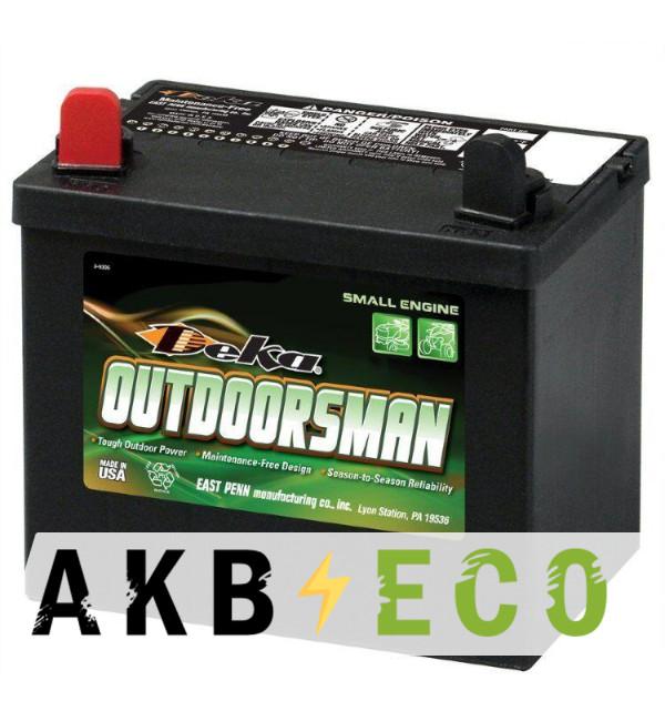 Мотоциклетный аккумулятор Deka 10U1L Outdoorsman 32Aч п.п. 330A (197x130x184)