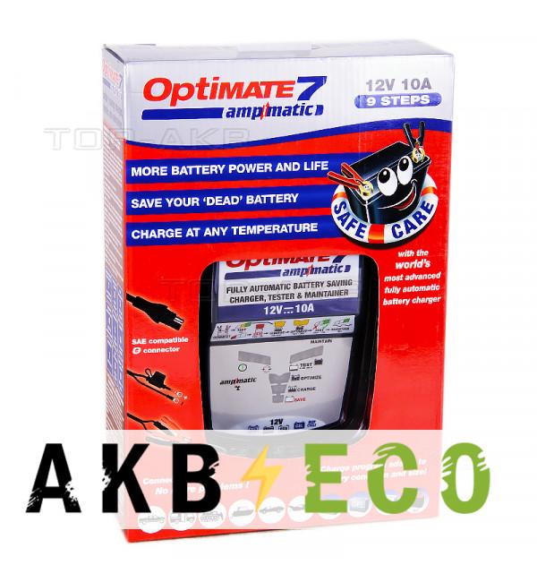 Зарядное устройство Optimate 7 Ampmatic (1-10A, 12 V) TM254