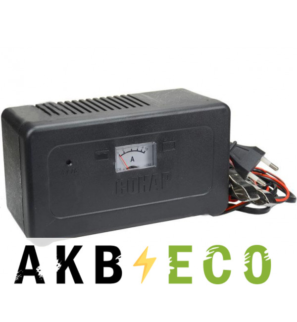Зарядное устройство Сонар УЗ 201П амперм. (12V 4,5А 20-65Ач)