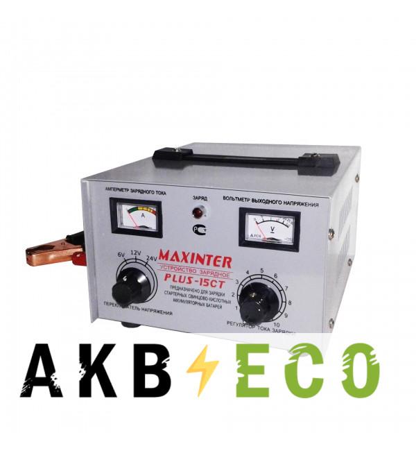 Зарядное устройство Maxinter Plus-15СT (Universal) 6/12/24В 20A