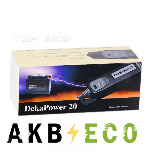 Зарядное устройство DekaPower 20 (0-2A) 12V, 1-20Ач