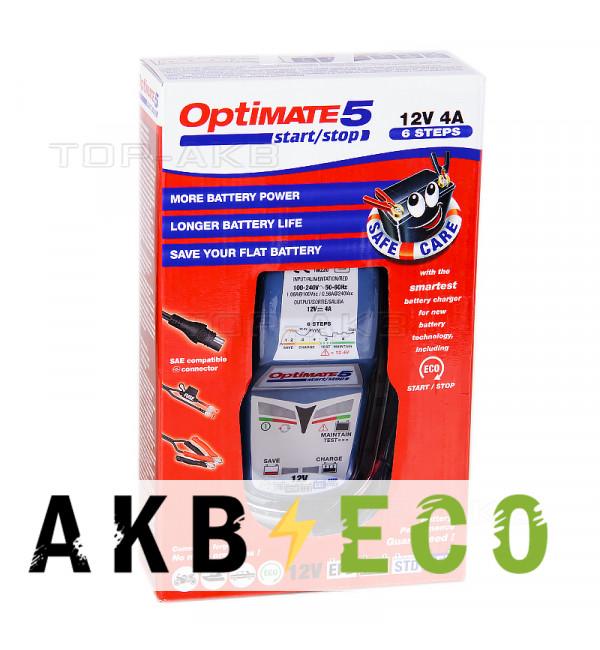 Зарядное устройство Optimate 5 4A Start-Stop (1x4A, 12 V) TM220