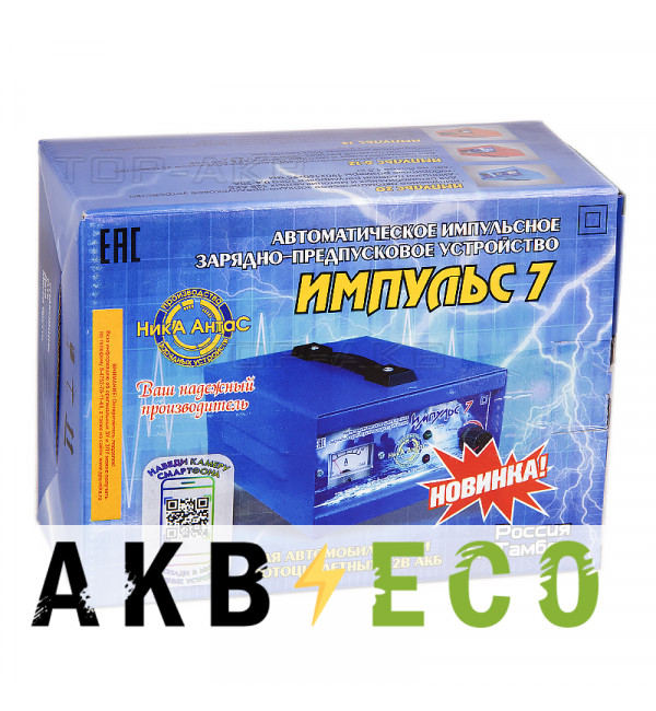 Зарядное устройство Ника АнтаС ЗПУ Импульс 7А
