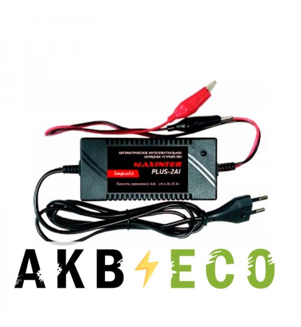 Зарядное устройство Maxinter Plus-2Ai (Impuls) 12В 2А