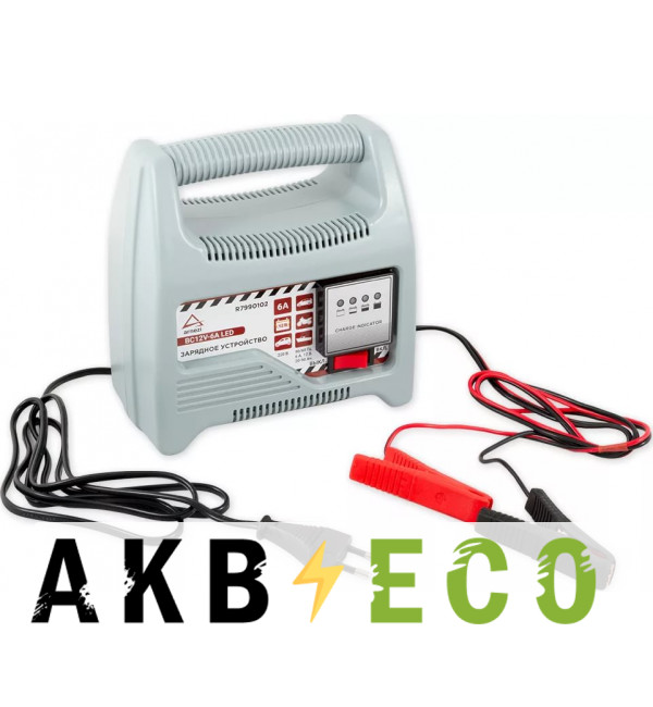Зарядное устройство ARNEZI 12В 6А 20-90 Ач 220В R7990102