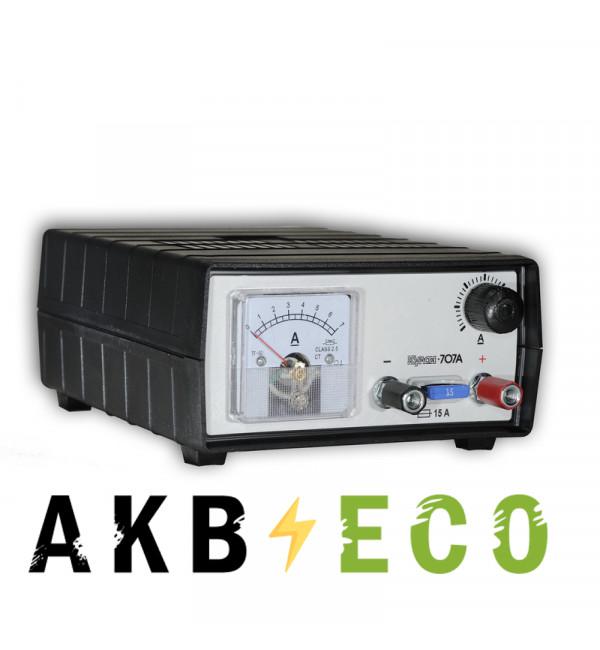 Зарядное устройство Кулон 707A 12V 1-15А 15-200 Ач