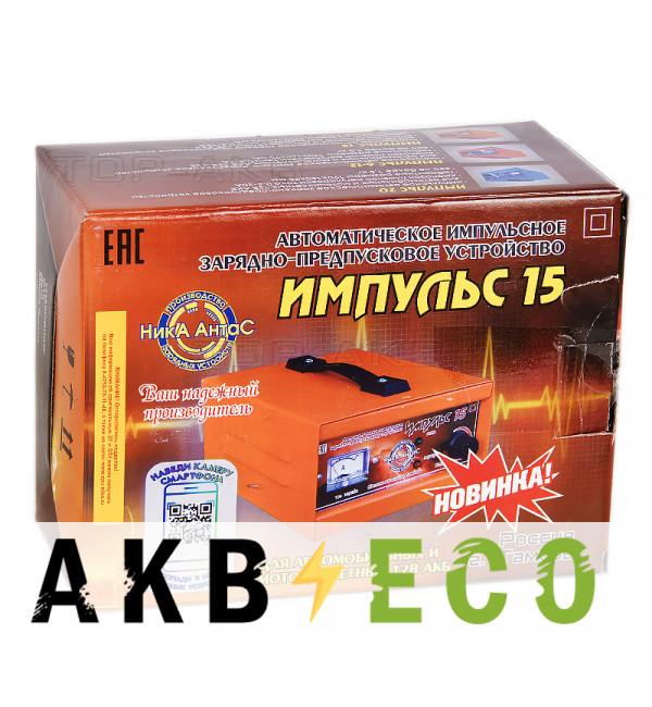 Зарядное устройство Ника АнтаС ЗПУ Импульс 15А