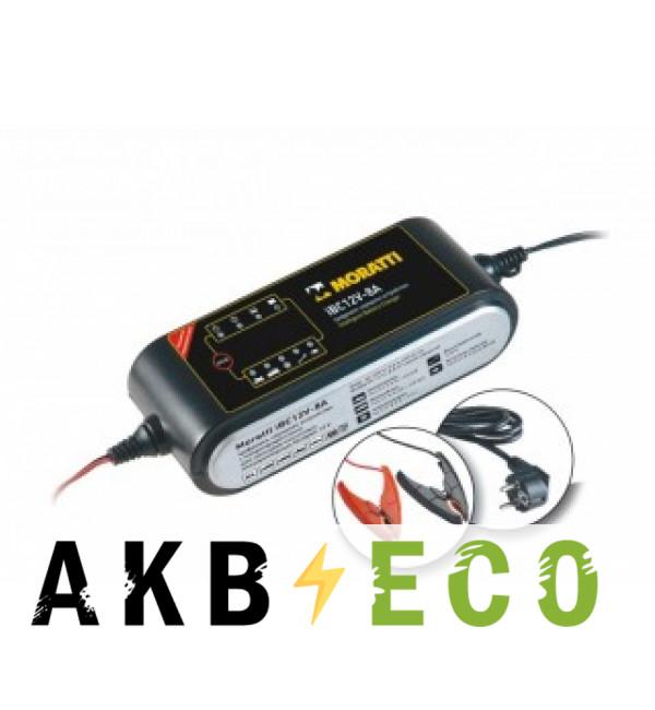 Зарядное устройство Moratti iBC 12v 8А