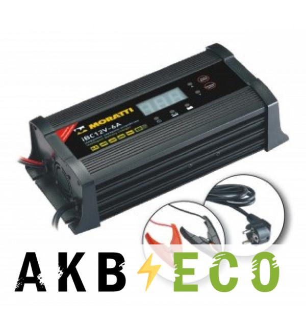Зарядное устройство Moratti iBC 12v 6А