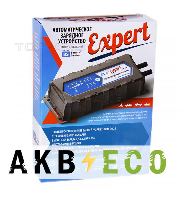 Зарядное устройство Battery Service Expert 12V 2.5A/6A/10A (PL-C010P)