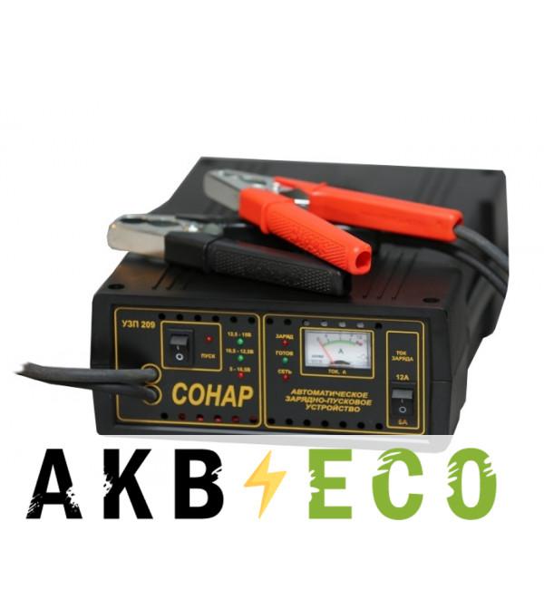 Пуско-зарядное устройство Сонар УЗП 209 (12V 6/12A 30-180 Ач) пуск 90-105А