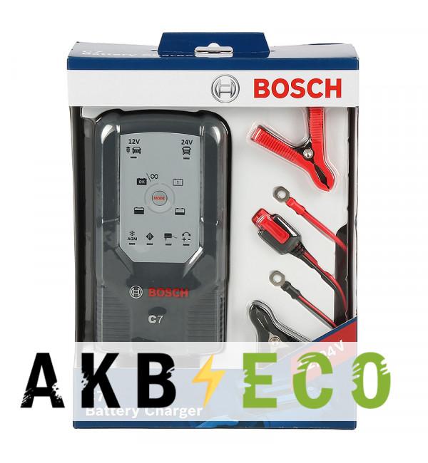 Зарядное устройство BOSCH C7 12/24V автомат 07М (018999907M)