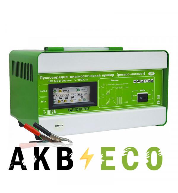 Пуско-зарядное устройство Автоэлектрика T-1012АР (автомат-реверс)