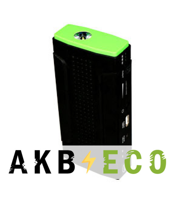 Пусковое устройство C2R 12000мАч HD07T-1G (Green-зеленый) 200-400А