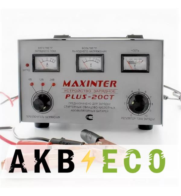 Зарядное устройство Maxinter Plus-20CT (Dynamic) 6/12/24В 30А